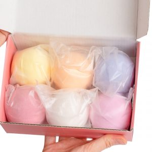 Plastic-Free Bath Bombs Set