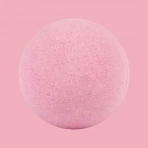 Individual Plastic Free Bath Bomb – Strawberry