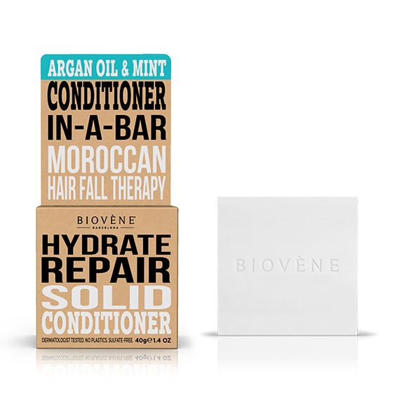 Hydrate Repair – Argan Oil & Mint Solid Conditioner Bar